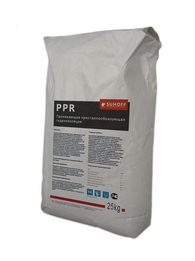 Проникающая кристаллообразующая гидроизоляция PPR