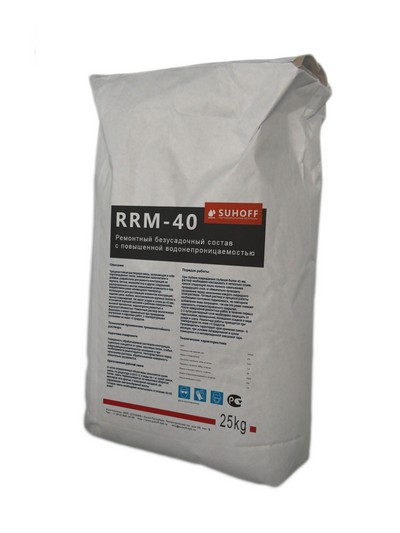 Ремонтный состав SUHOFF RRM-40 (25кг.)